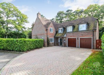 Thumbnail 5 bed detached house for sale in Winfield Drive, Newbury
