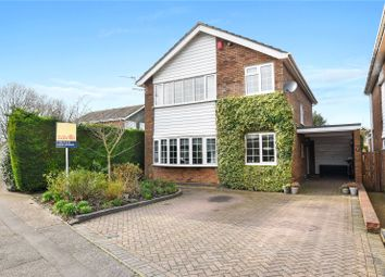 Thumbnail 4 bed detached house for sale in Aldwickbury Crescent, Harpenden, Hertfordshire