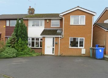 Thumbnail 5 bed semi-detached house for sale in Cheviot Close, Ramsbottom, Bury, Lancashire