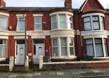 Thumbnail 3 bed terraced house to rent in Walsingham Road, Wallasey, Wirral