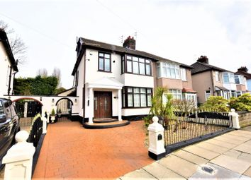 Thumbnail 3 bed semi-detached house for sale in Banstead Grove, Wavertree, Liverpool