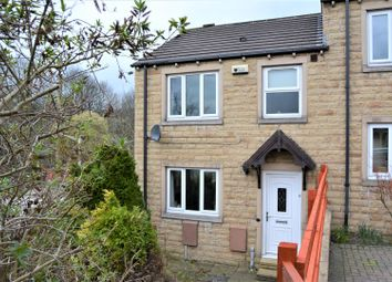 Thumbnail 3 bed semi-detached house for sale in Grove Nook, Longwood, Huddersfield