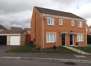 Thumbnail 3 bed semi-detached house for sale in Pinewood Close, Darlington, Co Durham