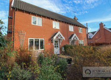 Thumbnail 3 bed semi-detached house for sale in Church Road, Earsham, Bungay