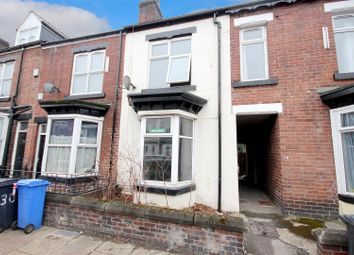 Thumbnail 3 bed terraced house to rent in Harefield Road, Sheffield