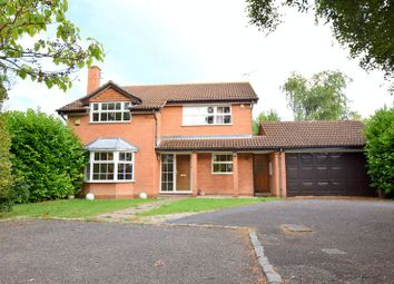 Thumbnail 4 bed detached house for sale in Lowbrook Close, Aylesbury