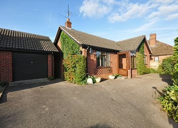 Thumbnail 2 bed detached bungalow for sale in Coldham Lane, Gislingham, Eye