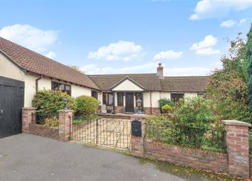 Thumbnail 4 bedroom detached bungalow for sale in Infields Road, Glatton, Huntingdon