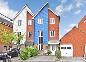 Thumbnail 3 bed town house for sale in George Stewart Avenue, Faversham, Kent