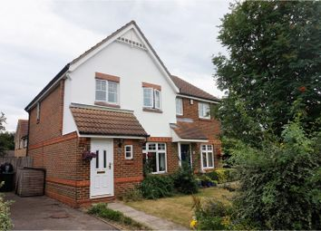 Thumbnail 3 bed semi-detached house for sale in Clarke Crescent, Ashford