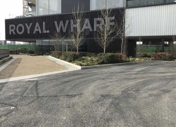 Thumbnail 1 bed flat for sale in Royal Wharf, Royal Docks, London