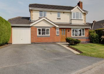 Thumbnail 4 bedroom detached house for sale in Cloverfields, Haslington, Crewe