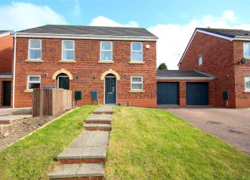 Thumbnail 3 bedroom property for sale in Horton Crescent, Bowburn, Durham
