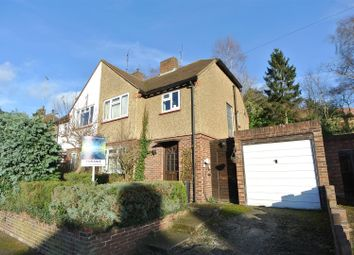 Thumbnail 3 bedroom property for sale in Campbell Road, Weybridge