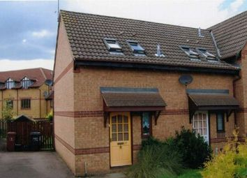 Thumbnail 1 bed end terrace house to rent in Velocette Way, Duston, Northampton