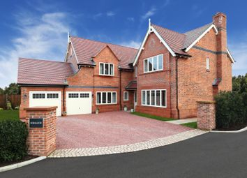 Thumbnail 5 bedroom detached house for sale in The Normande At Stretton Green, Stretton Green, Tilston, Cheshire