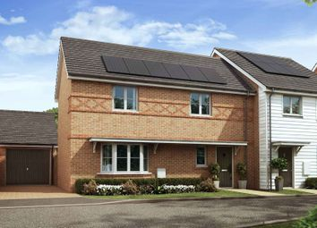 Thumbnail 3 bed semi-detached house for sale in Nugent Close, Church Crookham, Fleet