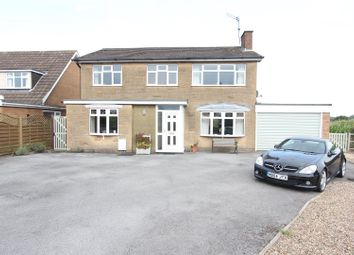 Thumbnail 5 bed detached house for sale in Howe Close, Stoney Stanton, Leicester