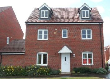 Thumbnail 4 bed detached house to rent in Barrowby Road, Grantham