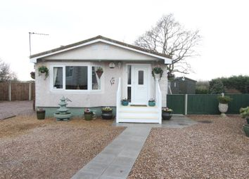 Thumbnail 2 bed mobile/park home for sale in Springfield Park, Off Wykin Road, Hinckley