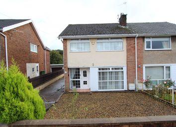 Thumbnail 3 bed semi-detached house for sale in Parklands Road, Tonyrefail -, Porth