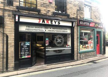 Thumbnail Retail premises for sale in Hollowgate, Holmfirth
