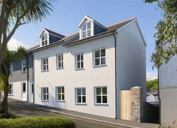 Thumbnail 3 bed flat for sale in New Windsor Terrace, Falmouth, Cornwall