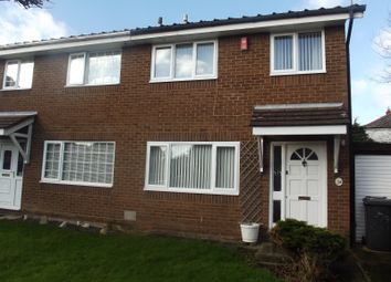 Thumbnail 3 bed terraced house for sale in St. Clares Avenue, Fulwood, Preston