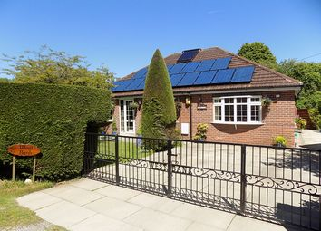 Thumbnail 4 bed detached bungalow for sale in Bank Street, Glazebrook, Warrington