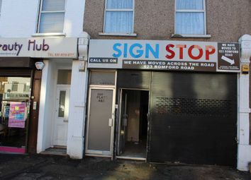 Retail premises to let in Romford Road, London E12