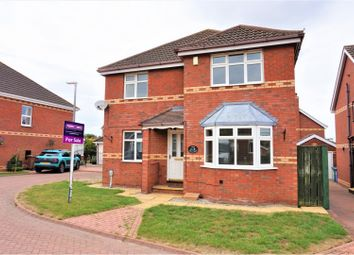 Thumbnail 4 bed detached house for sale in Mill Rise, Cottingham