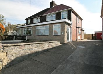 Thumbnail 3 bedroom semi-detached house for sale in Shuttlewood Road, Bolsover, Chesterfield