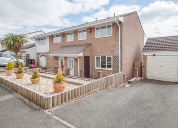 Thumbnail 3 bedroom semi-detached house for sale in Forresters Drive, Woolwell, Plymouth