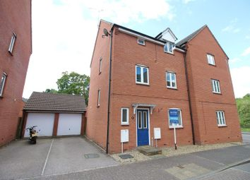 Thumbnail 4 bed town house for sale in Hawks Drive, Tiverton