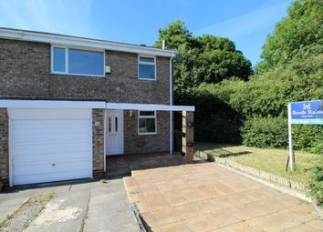 Thumbnail 3 bed semi-detached house for sale in Penhill Close, Ouston, Chester Le Street