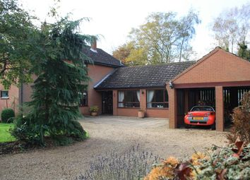 Thumbnail 4 bed detached house for sale in Church Road, Flixton, Bungay