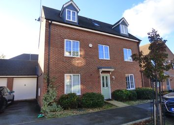 Thumbnail 5 bed detached house to rent in Cable Crescent, Woburn Sands