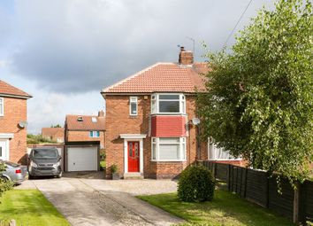 Thumbnail 2 bed semi-detached house for sale in The Crossway, York