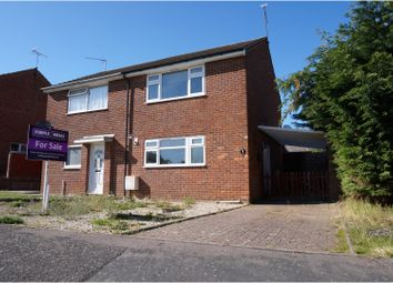 Thumbnail 2 bed semi-detached house for sale in Orchid Way, Ipswich