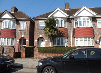Thumbnail 3 bed end terrace house to rent in Aylen Road, Portsmouth