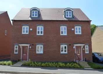 Thumbnail 4 bed semi-detached house for sale in Cawston Lane, Rugby Warwickshire