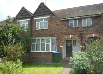 Thumbnail 3 bed terraced house to rent in Henry Avenue, Rustington, Littlehampton