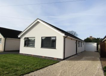Thumbnail 3 bed detached bungalow for sale in Glebe Road, Queniborough, Leicester