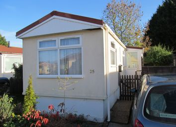 Thumbnail 1 bed mobile/park home for sale in Downsland Park, Great Moulton, Norwich, Norfolk