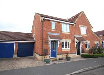 Thumbnail 3 bed semi-detached house for sale in Clover End, Witchford, Ely