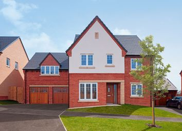 "Thumbnail 5 bed detached house for sale in ""The Winterberry"" at Knightley Road, Gnosall, Stafford"