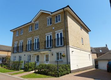 Thumbnail 3 bedroom end terrace house for sale in Marius Crescent, Hampton Hargate, Peterborough