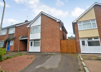 Thumbnail 3 bed link-detached house for sale in Somerby Drive, Oadby, Leicester