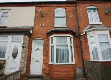 Thumbnail 2 bedroom terraced house for sale in Fox Crescent, Sparkhill, Birmingham
