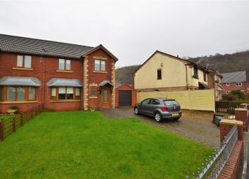 Thumbnail 3 bed semi-detached house for sale in Graig Newydd, Godrergraig, Swansea